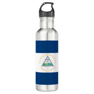 Botella De Agua Bandera de Nicaragua