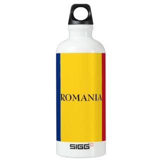 Botella De Agua Bandera de Rumania