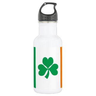 Botella De Agua Bandera del trébol de Irlanda