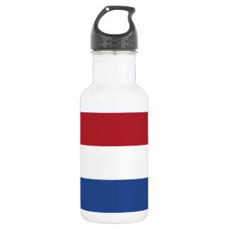 Botella De Agua Bandera nacional de los Países Bajos, Holanda,