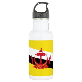 Botella De Agua Bandera nacional del mundo de Brunei