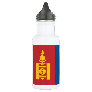 Botella De Agua Bandera nacional del mundo de Mongolia
