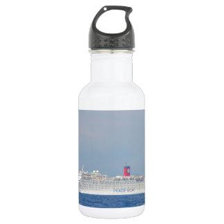 Botella De Agua Barco de la paz
