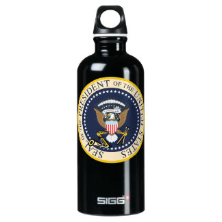 Botella De Agua Bill Clinton: Sello presidencial