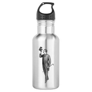 Botella De Agua Caballero Selfie del Victorian