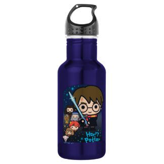 Botella De Agua Cámara de Harry Potter del dibujo animado de