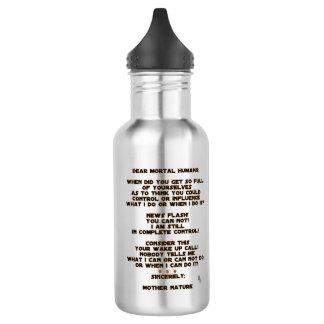 Botella De Agua Cambio de clima