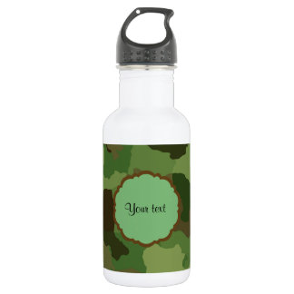 Botella De Agua Camuflaje