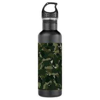 Botella De Agua Camuflaje de color caqui perturbador