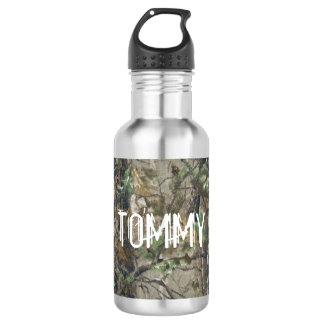 Botella de agua - camuflaje de la caza