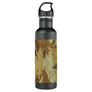 Botella De Agua Camuflaje del águila del desierto