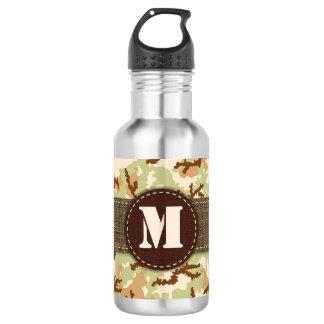 Botella De Agua Camuflaje del desierto