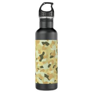 Botella De Agua Camuflaje perturbador del desierto