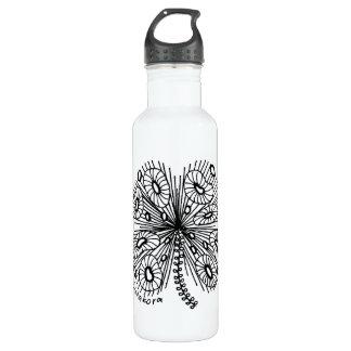 Botella de agua caprichosa del trébol de Listakora