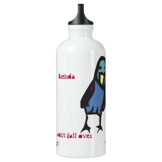 Botella De Agua chirrido, magro en el viento…