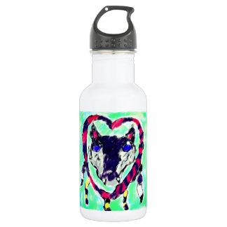 Botella De Agua Colector ideal del lobo