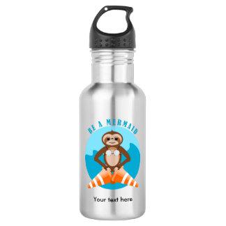 Botella De Agua Cono del tráfico de la sirena de la pereza
