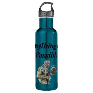 Botella De Agua Cualquier cosa del culturista posible