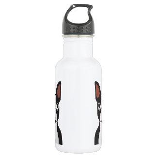 Botella de agua de Boston Terrier