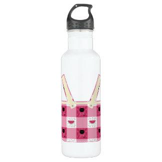 Botella de agua de la comida campestre del verano