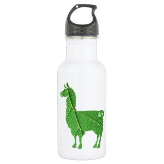 Botella de agua de la llama de la hoja
