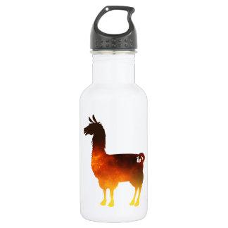 Botella de agua de la llama del fuego