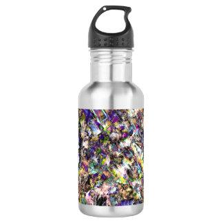 Botella de agua de las técnicas mixtas