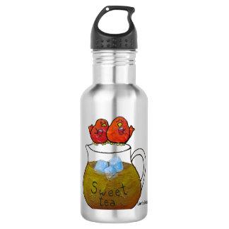 Botella de agua de LimbBirds (18 onzas), acero