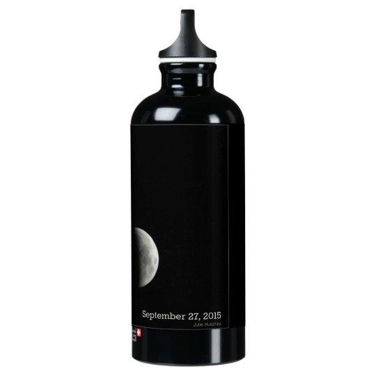 Botella de agua del eclipse lunar