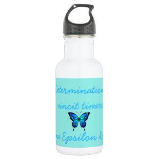 Botella de agua del entrenamiento