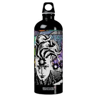 Botella de agua del estallido de Psicodelic