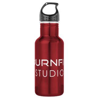 Botella de agua del estudio de BurnFit