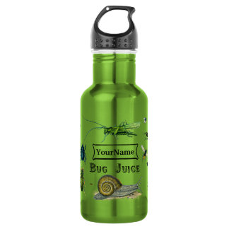 Botella de agua del jugo del insecto para el