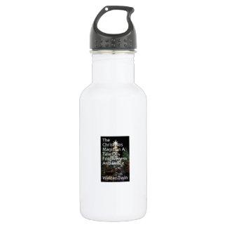 Botella de agua del navidad