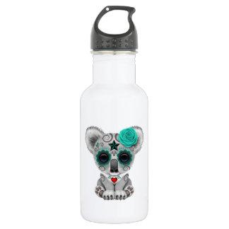 Botella De Agua Día azul de la koala muerta del bebé