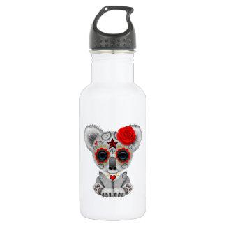 Botella De Agua Día rojo de la koala muerta del bebé