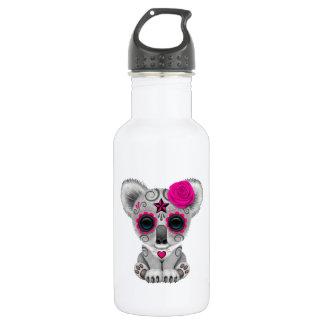 Botella De Agua Día rosado de la koala muerta del bebé