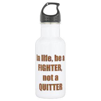Botella De Agua Días de fiesta de la PLANTILLA de la sabiduría de