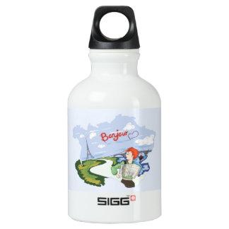 Botella De Agua Dibujo de Bonjour París