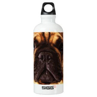 Botella De Agua dogo francés grande marrón moderno