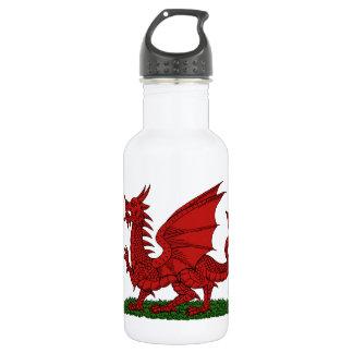 Botella De Agua Dragón rojo de País de Gales
