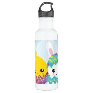 Botella De Agua Dúo lindo de pascua