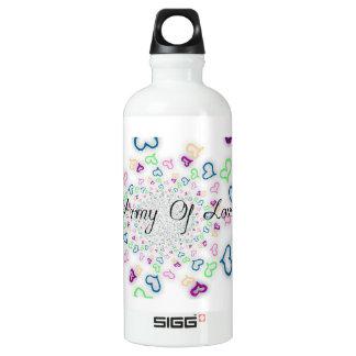 Botella De Agua Ejército de amor