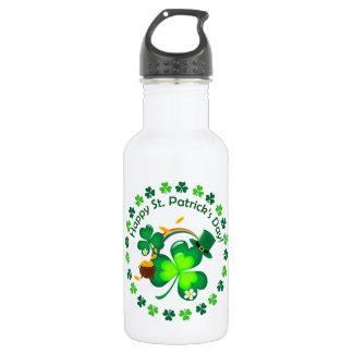 Botella De Agua El día de St Patrick feliz