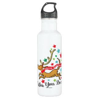 Botella De Agua El Grinch el | máximo - siga sus sueños