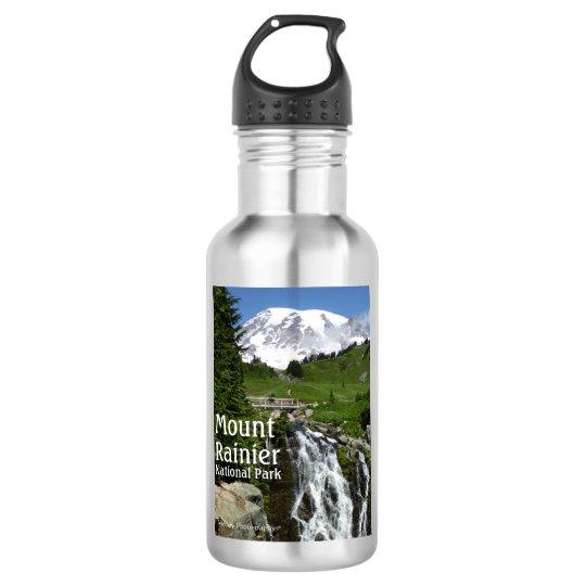 Botella De Agua El Monte Rainier N.P. con el texto