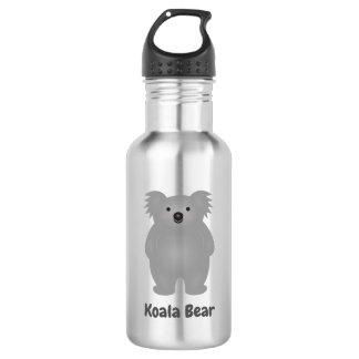 Botella De Agua El oso de koala lindo del bebé de Australia añade
