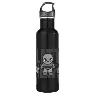 Botella De Agua Elevación pesada - entrenamiento de Kawaii del
