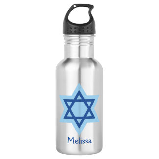 Botella De Agua Estrella de David judía