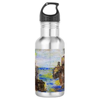 Botella De Agua Extracto áspero del país